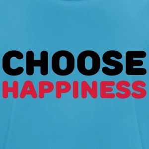 Choose happiness Sportkläder - Andningsaktiv T-shirt herr