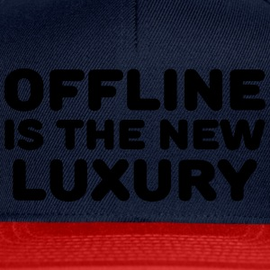Offline is the new luxury Sports wear - Snapback Cap