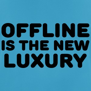 Offline is the new luxury Sportkleding - mannen T-shirt ademend