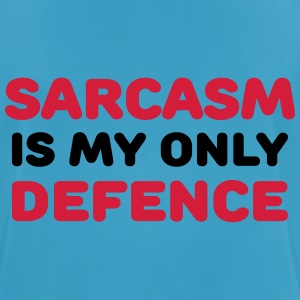 Sarcasm is my only defence Vêtements Sport - T-shirt respirant Homme