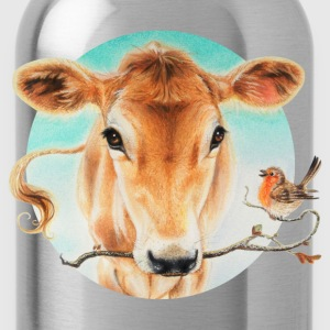 cute cow calf Tassen & rugzakken - Drinkfles
