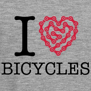 I Love Bicycles T-Shirts - Men's Premium Longsleeve Shirt