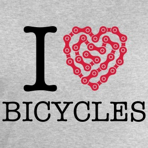 I Love Bicycles T-shirts - Sweatshirt herr från Stanley & Stella