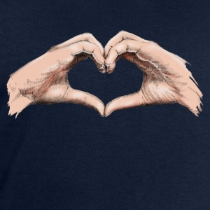 Hands heart Topper - Sweatshirts for menn fra Stanley & Stella