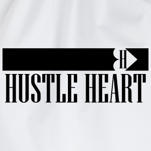 Hustle Heart Border Shirt - Turnbeutel