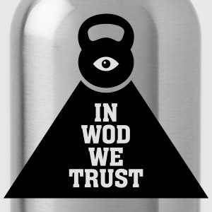 In WOD We Trust T-Shirts - Water Bottle