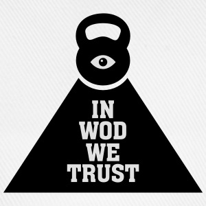 In WOD We Trust T-Shirts - Baseballkappe