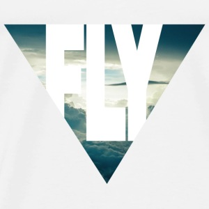 FLY Tops - Mannen Premium T-shirt