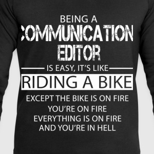 Communications Editor T-Shirts - Men's Sweatshirt by Stanley & Stella