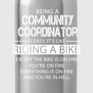 Community Coordinator T-Shirts - Water Bottle