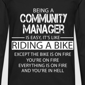 Community Manager T-Shirts - Men's Premium Longsleeve Shirt