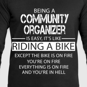Community Organizer T-Shirts - Men's Sweatshirt by Stanley & Stella
