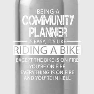 Community Planner T-Shirts - Water Bottle
