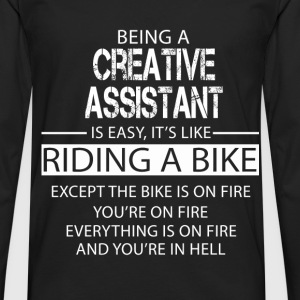Creative Assistant T-Shirts - Men's Premium Longsleeve Shirt