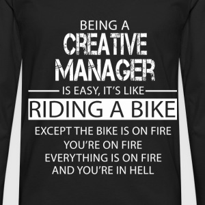 Creative Manager T-Shirts - Men's Premium Longsleeve Shirt