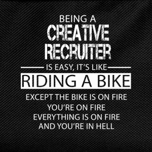 Creative Recruiter T-Shirts - Kids' Backpack