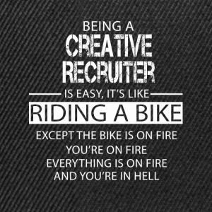 Creative Recruiter T-Shirts - Snapback Cap
