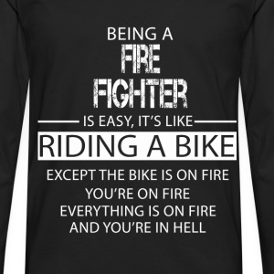 Fire Fighter T-Shirts - Men's Premium Longsleeve Shirt