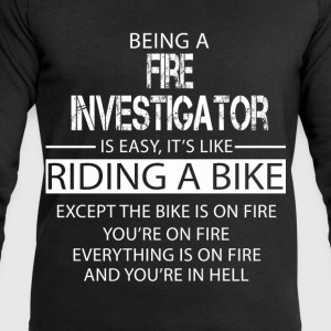 Fire Investigator T-Shirts - Men's Sweatshirt by Stanley & Stella