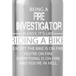 Fire Investigator T-Shirts - Water Bottle