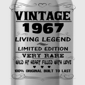 VINTAGE 1967-LIVING LEGEND T-Shirts - Water Bottle