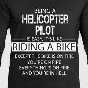 Helicopter Pilot T-Shirts - Men's Sweatshirt by Stanley & Stella