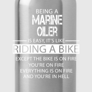 Marine Oiler T-Shirts - Water Bottle