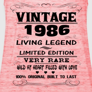 VINTAGE 1986-LIVING LEGEND T-Shirts - Women's Tank Top by Bella