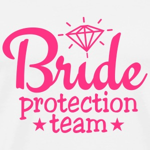 bride protection team 1c / bride security  Tops - Men's Premium T-Shirt