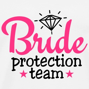bride protection team 2c / bride security  Topy - Koszulka męska Premium