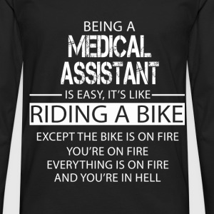 Medical Assistant T-Shirts - Men's Premium Longsleeve Shirt