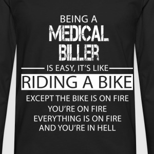 Medical Biller T-Shirts - Men's Premium Longsleeve Shirt
