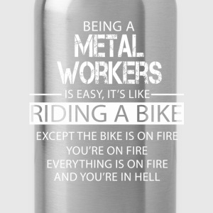 Metal workers T-Shirts - Water Bottle