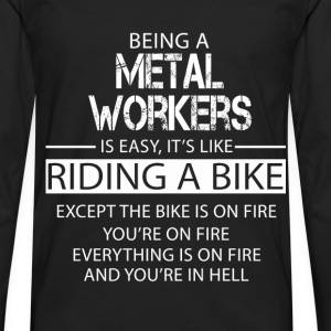 Metal workers T-Shirts - Men's Premium Longsleeve Shirt