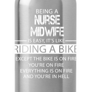 Nurse Midwife T-Shirts - Water Bottle