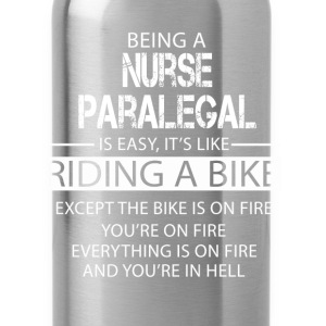 Nurse Paralegal T-Shirts - Water Bottle