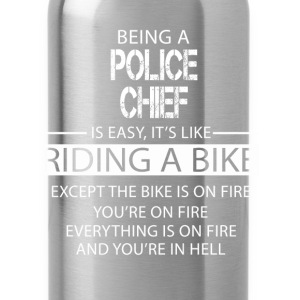 Police Chief T-Shirts - Water Bottle