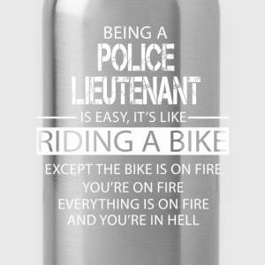 Police Lieutenant T-Shirts - Water Bottle