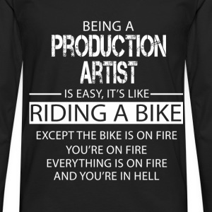 Production Artist T-Shirts - Men's Premium Longsleeve Shirt