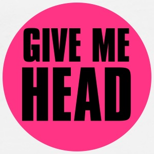 give_me_head Buttons - Männer Premium T-Shirt