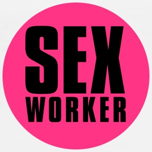 sex_worker Buttons - Men's Premium T-Shirt