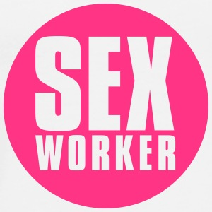 sex_worker_white Buttons - Men's Premium T-Shirt