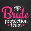 bride protection team 2c / bride security   Aprons - Cooking Apron