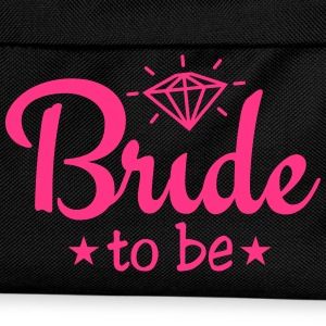 bride to be with diamond 1c Caps & Hats - Kids' Backpack