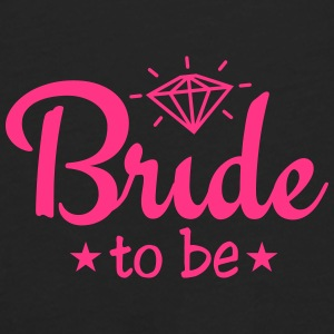 bride to be with diamond 1c Caps & Hats - Men's Premium Longsleeve Shirt