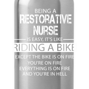 Restorative Nurse T-Shirts - Water Bottle