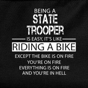 State Trooper T-Shirts - Kids' Backpack