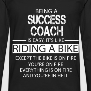 Success Coach T-Shirts - Men's Premium Longsleeve Shirt