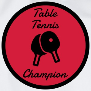 Table Tennis - Ping Pong - Sport - Racket - Ball T-shirts - Gymtas