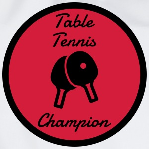 Table Tennis - Ping Pong - Sport - Racket - Ball  Aprons - Drawstring Bag